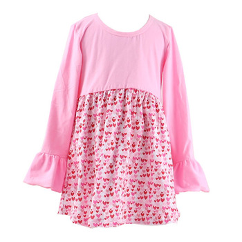 baby girls kids toddle new model frocks top 100 spring kaiyo dress pink fashion girls - Valentine Dresses For Girls