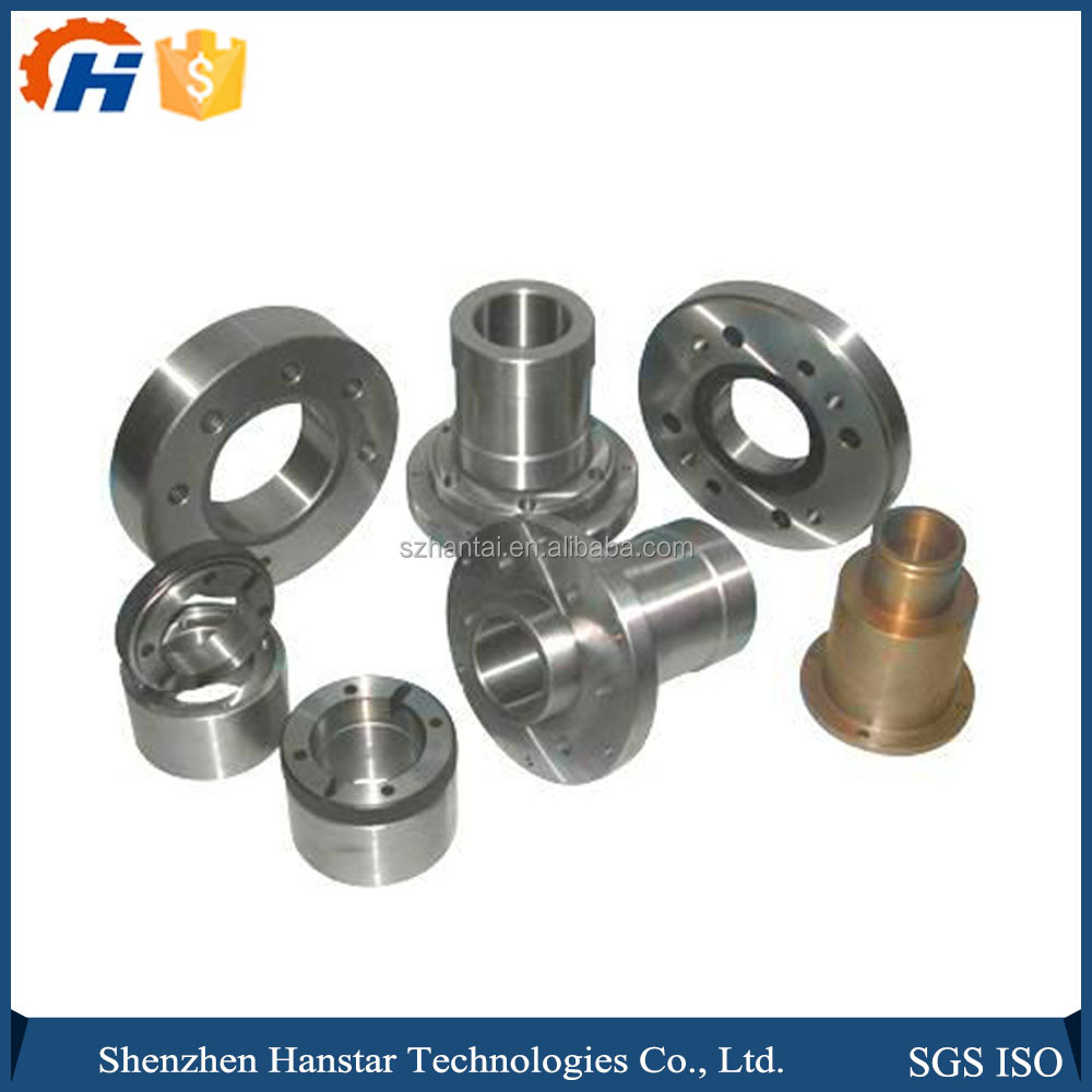 High precision Circle Round Steel CNC lathed turning Spare parts for truck / Aircraft