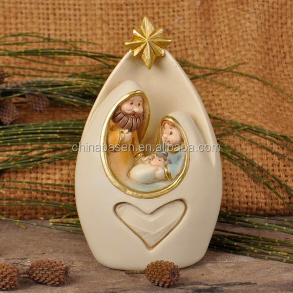 Religious crafts nativity sets resin