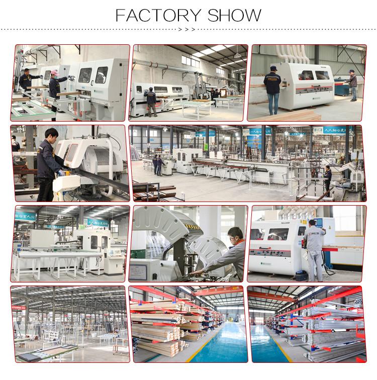 Shanghai golden manufactory open inside aluminium french casement window