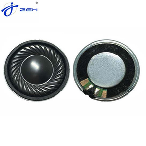 Mini Smart voice speaker 8ohm 1w 2w 3w for micro mylar loudspeaker Neodymium 30mm 8ohm 2w Speaker