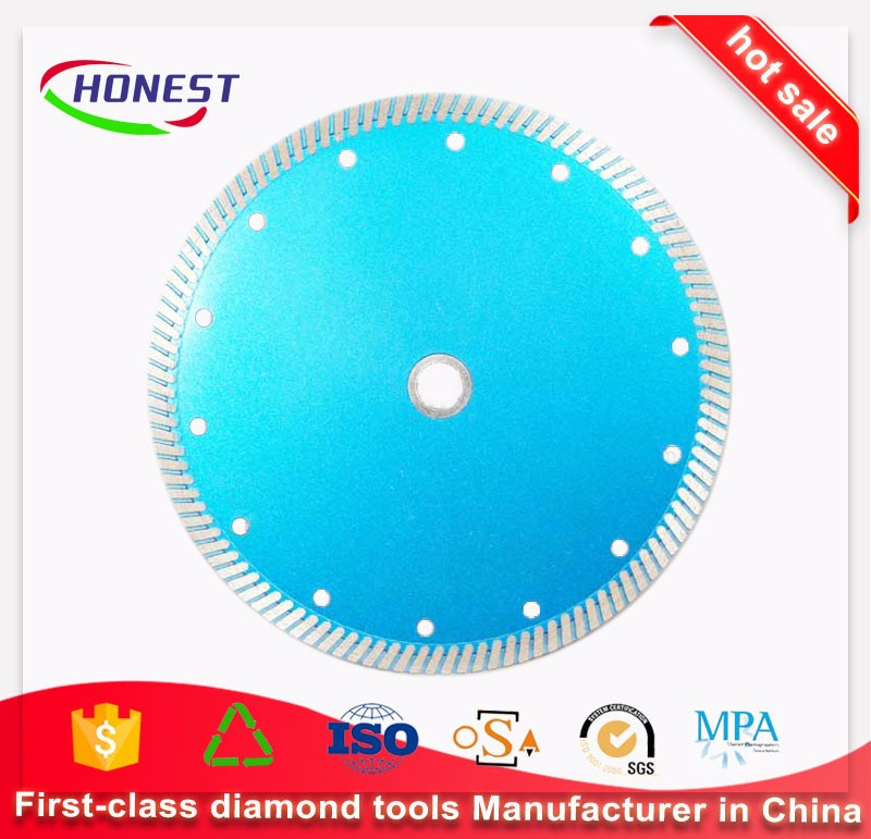 China manufacturer ultra thin cutting diamond blade