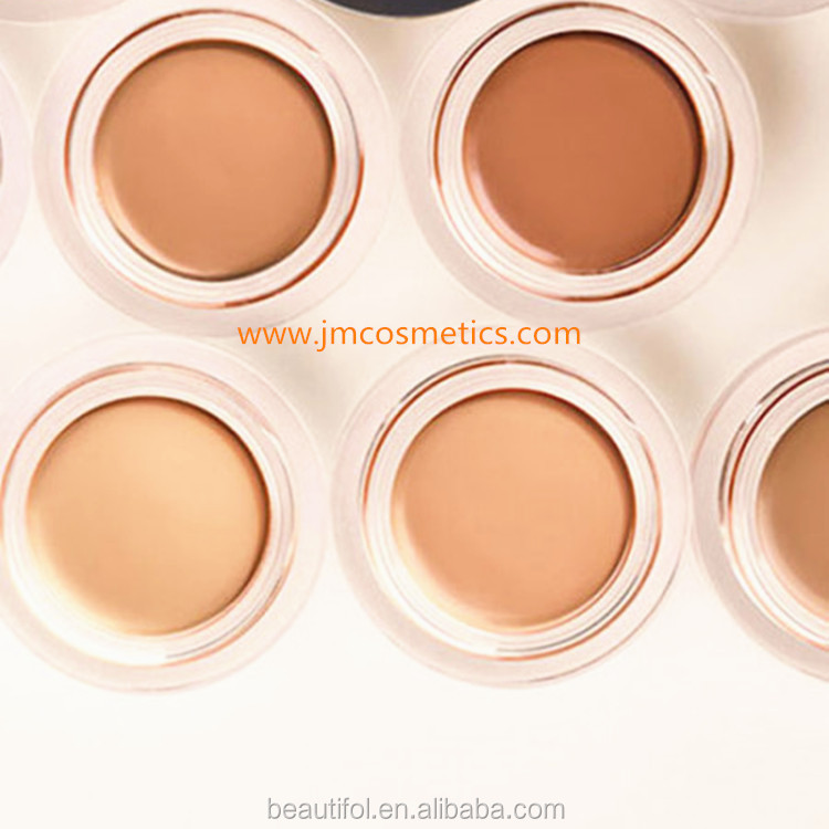 Private label cylinder concealer cosmetic hair concealer palette makeup corrector for different skin tones GMP makeup factory