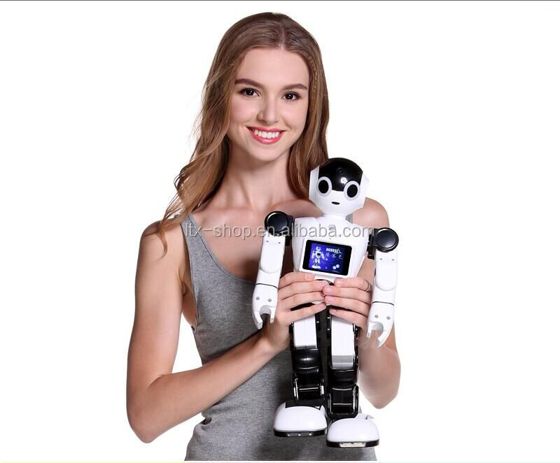 New Arrival Intelligent Progammable Robot Toy Support House Monitor/Free-Talk/App Remote Control/Dancing/Music Smart Toy Robot