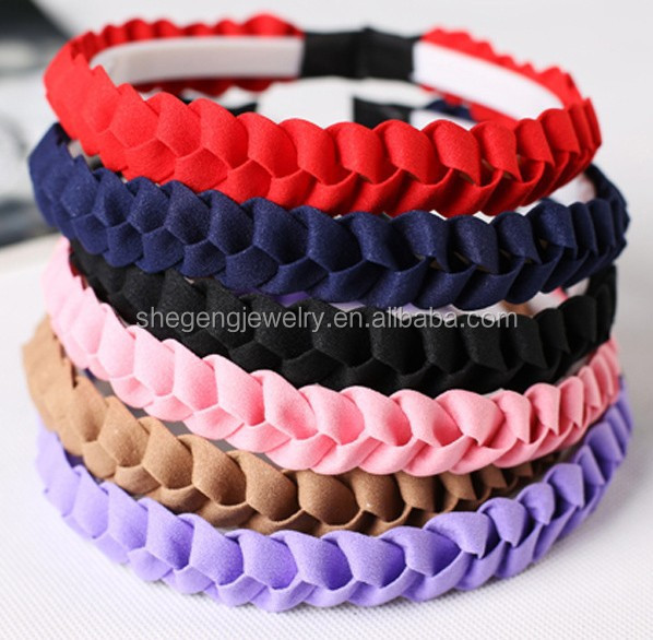 Beautiful Girls Braided Hair Band
