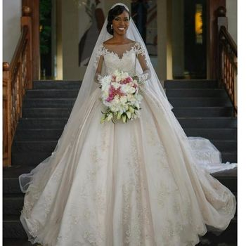 Fa80 Wedding Dresses Vintage Long Sleeve Lace Wedding Dresses ...