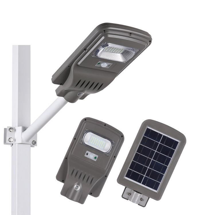Energy saving SMD waterproof ip65 outdoor 20w 40w 45w 55w 60w 65w 70w shoebox pole model led solar street light price