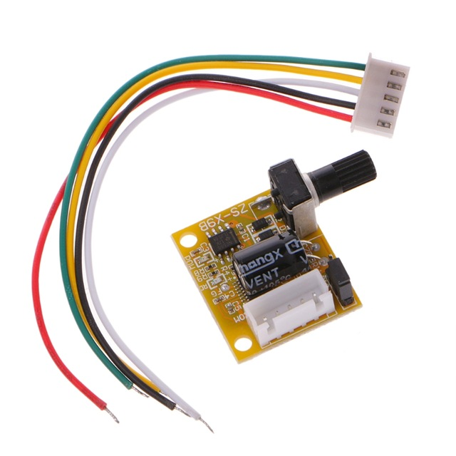 DC 5V-12V 2A 15W Brushless Motor Speed Controller No Hall BLDC Driver Board