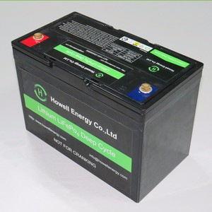 Wholesaler 12V 160ah Deep Cycle Lithium ion Battery for Electric golf vehicle