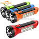 HF-8613 rechargeable flashlight 220V 2W 800mah battery operated torch light