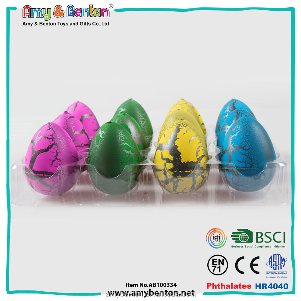 Promotion funny water magic growing dinosaur egg toy
