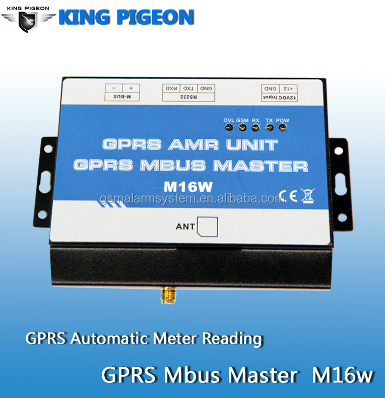 Gprs Modbus Rtu--m16w Gprs Automatic Meter Reading(amr) System ...