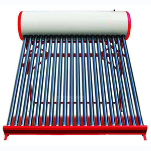 Energy - efficient Windly Used Paint Color Solar Water Heater Factory Compact Colored Steel Non-pressure solar water heater