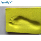 High density high resiliency PU memory foam sheet for foot pad