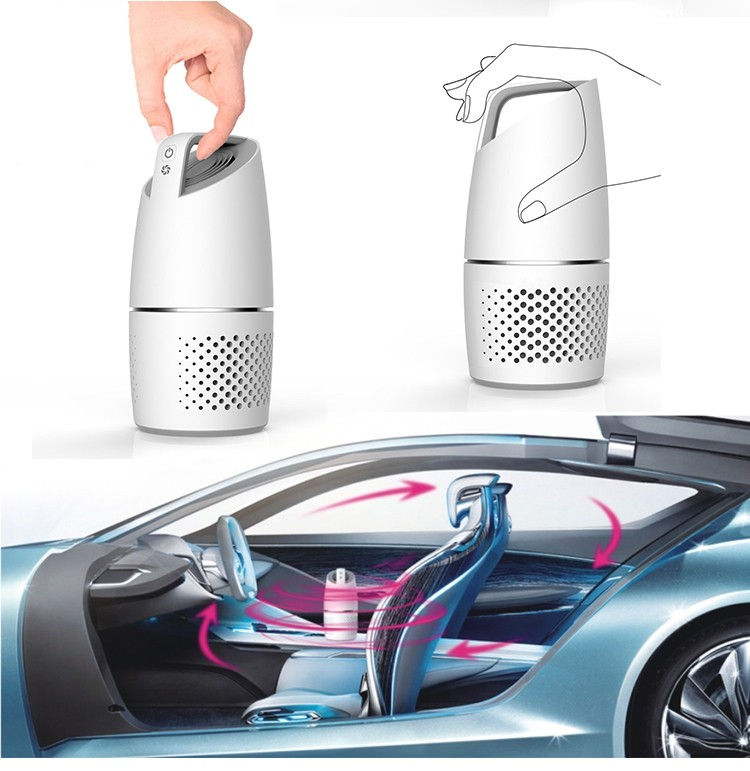 Olansi-hot sale mini car air purifier-K05A
