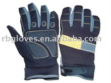 100% Synthetic Leather Anti Shock All Purpose Work Glove