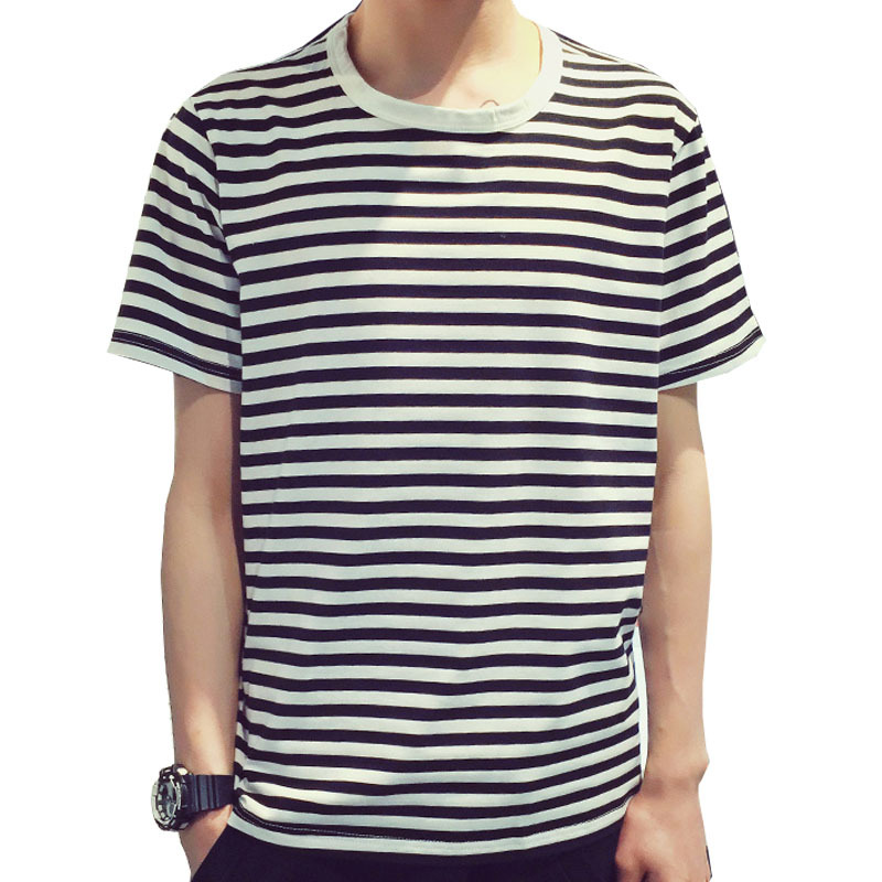 Cheap Black White Striped T Shirt Men Find Black White Striped T