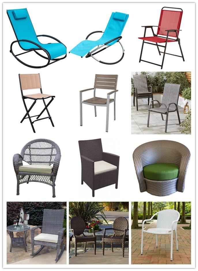 Outdoor Patio Aluminum Zero Gravity Chair Orbital Rocking Lounge Chair With  Pillow Wave Rocker