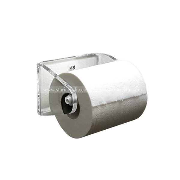 Clear Wall Mounted Paper Towel Holder,Acrylic Toilet Tissue Roll ...