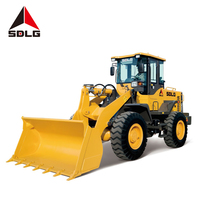 2019 hot sale SDLG LG936L loader with quick hitch fork used for mining working