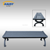 High quality aluminum outdoor garden bench/antique park bench