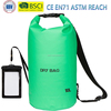 Green Waterproof Dry Bag - Dry Compression Keeps Gear Dry for Beach,Boating, Hiking, Camping and Fishing