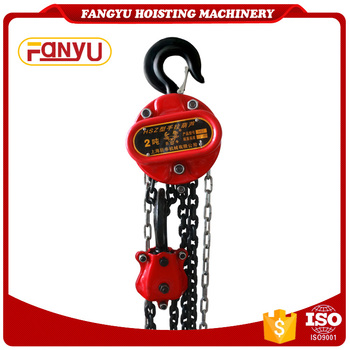 Professional Enterprise 5 Ton Vital Type Chain Pully Block