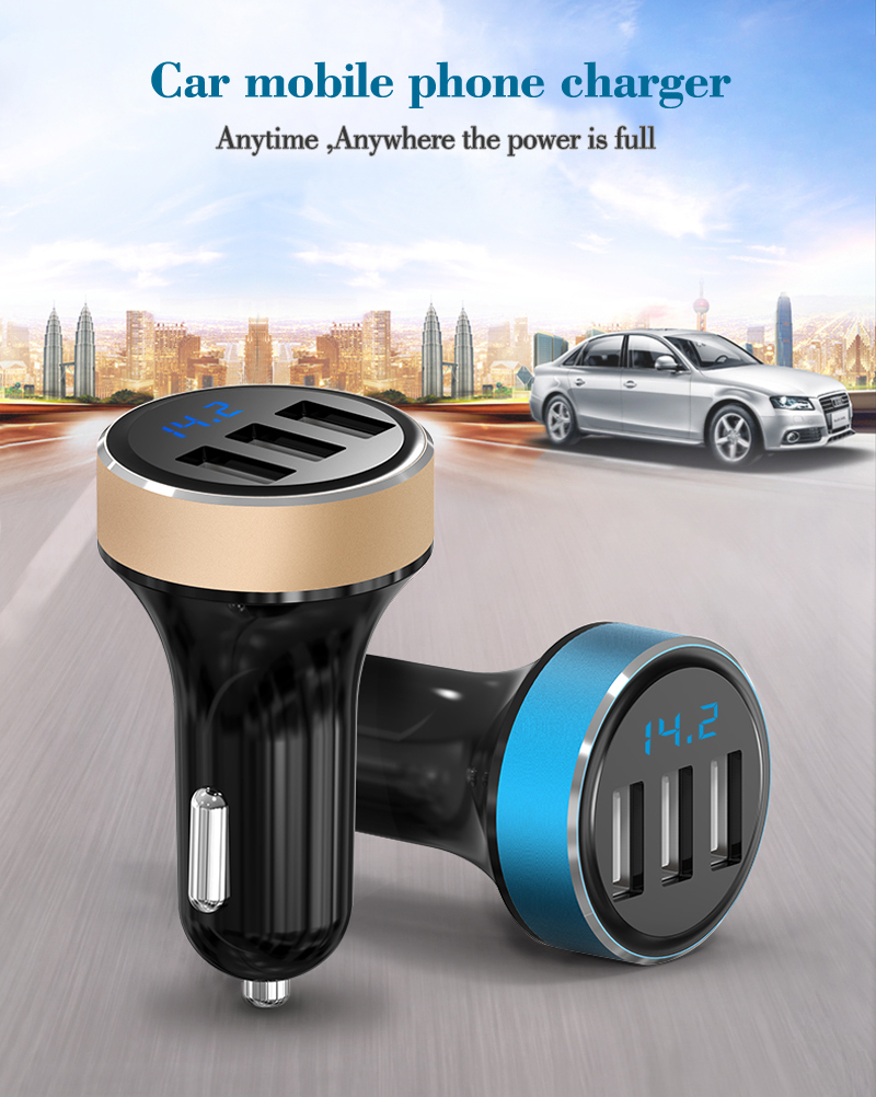 Hot sales AP03 car 12v dc socket car Charger with 3 port usb car charger.png