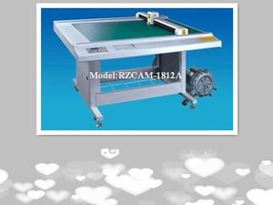 cardboard sample making or cutting machine with knife blade