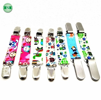 Stainless steel suspender clips elastic band mitten clips Fashion Fit Clip