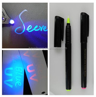 Invisible Ink and Blacklight marker pen,UV-tattoo-stylo, Disappearing ,CH-6004