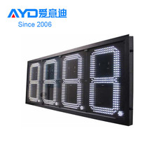 5 digit 7 segment led display for gas station led price sign
