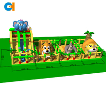 Jungle theme inflatable slide and bouncer,Inflatable jungle jumping castles,Wildlife inflatables