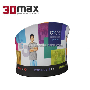 Exhibition Booth Backdrop : Exhibition booth trade show display aluminum tube tension fabric