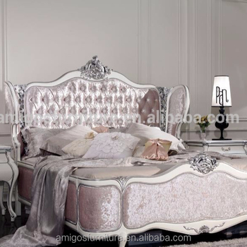 French Bedroom Furniture Set/ Italian Classic Luxury Adult Room Furniture/  Rococo French Furniture Palace Bedroom - Buy Luxurious King Bedroom ...