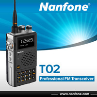 Nanfone T02 Dual Band UHF VHF Transciever Mobile Two Way Radio