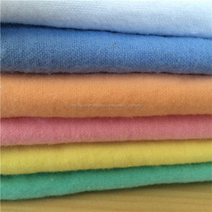 Dyed flannel fabric 100% cotton flannel 20*10 40*44 ,soft Cozy Cotton Flannel pattern printed Fabric for burp cloths