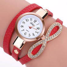 Duoya Fashion Watch Women Dress Casual Ladies Wristwatch For Women Bracelet Vintage Crystal Lady Watch