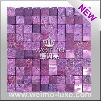 Durable Glisten Decorative Plastic Wall Covering Sheets