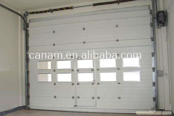PVC material Lifting Folding up Aircraft Hangar Door/Large Factory door