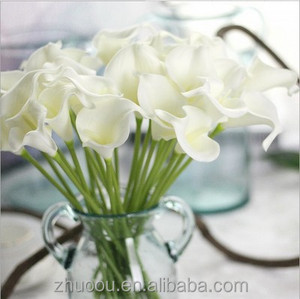 Silk Calla Lily Flowers Hobby Lobby Wholesale Artificial Flowers in the Wedding for Bride