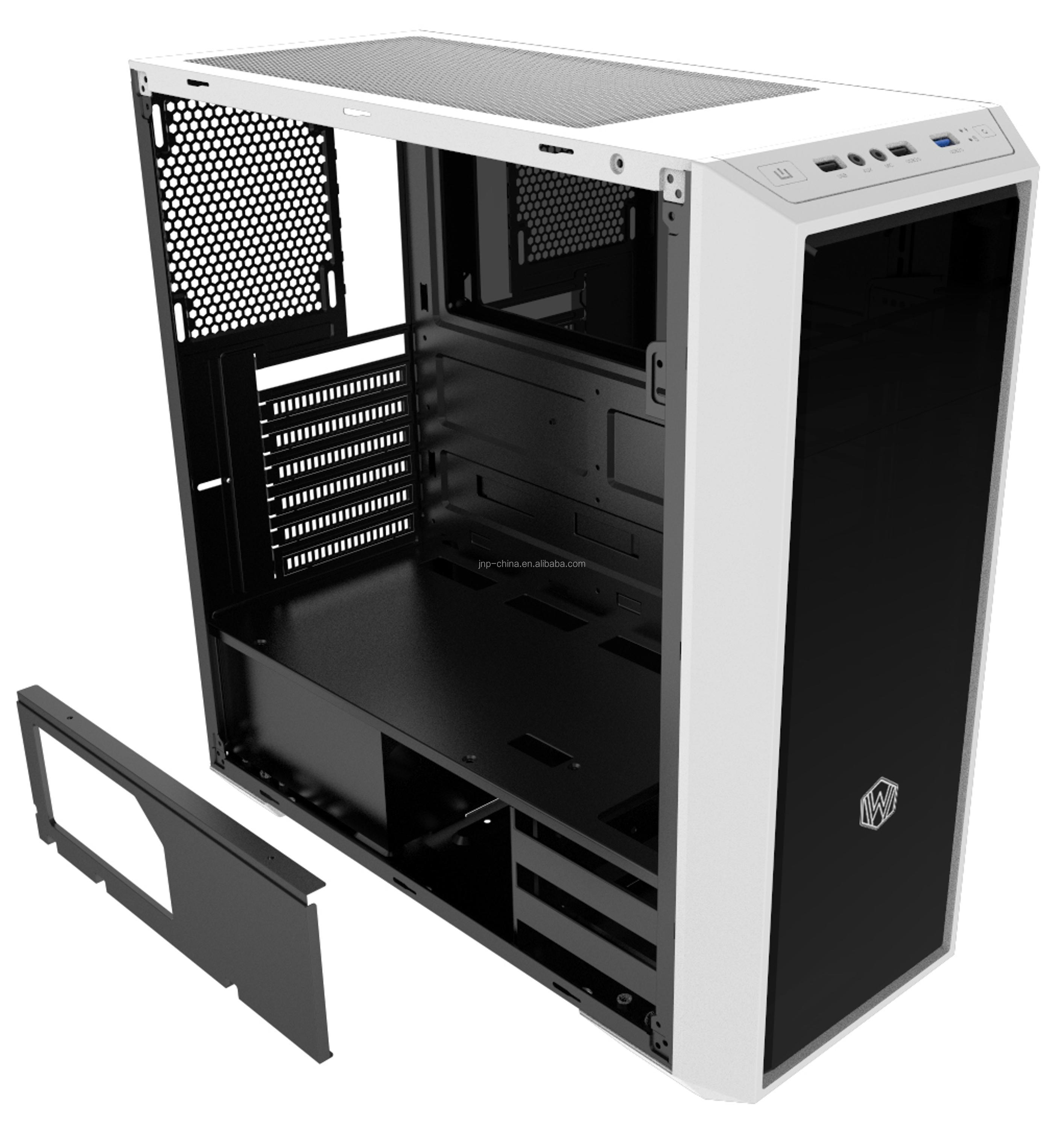Factory Supply Glass Gaming computer chassis