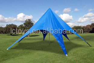 Factory price aluminum frame tent, double star tent, star shaped tent