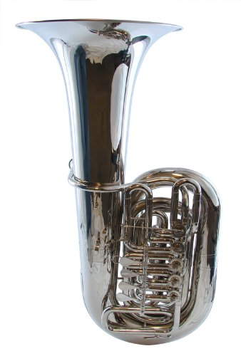 Schiller American Heritage CC 5-Valve Rotary Tuba - Nickel Plated