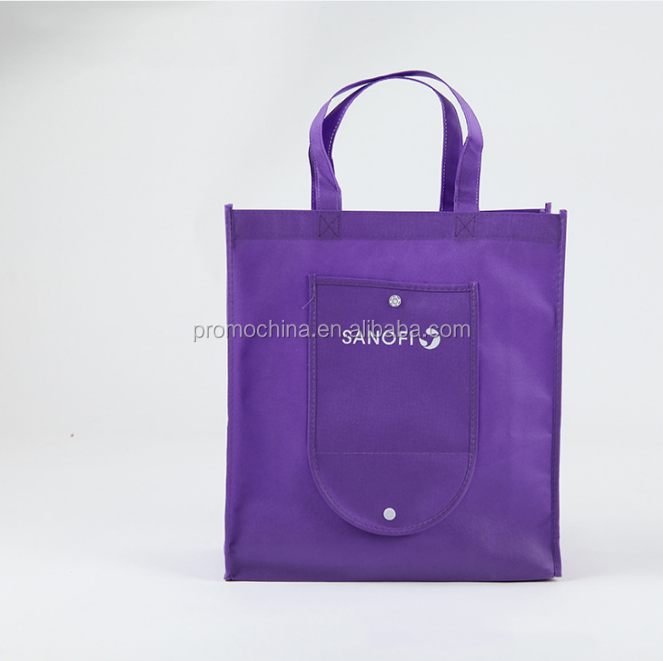 Shenzhen Factory Customized Cheap Non Woven Bag Promotional Foldable Tote Bag Wholesale Tote Bags