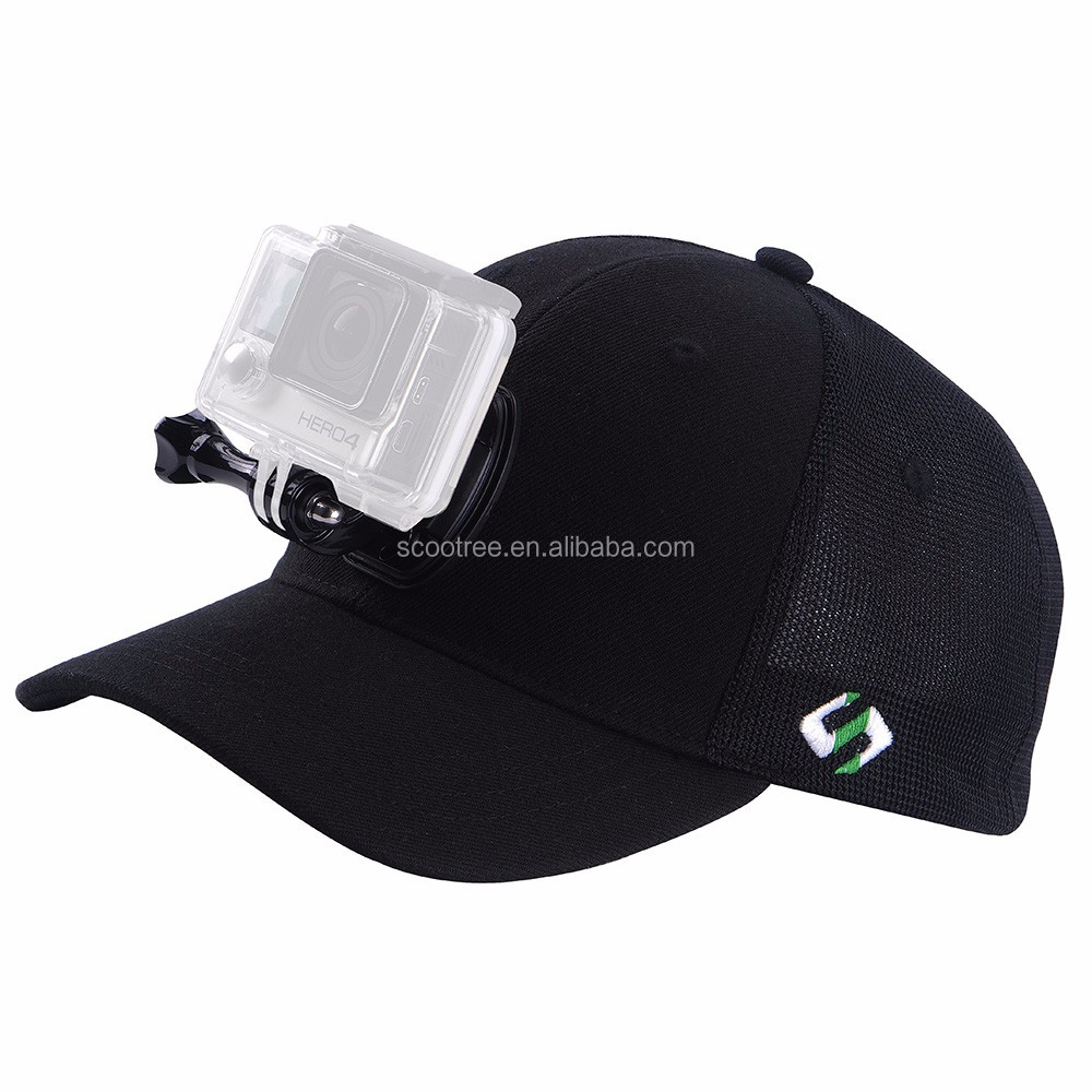 Bulk Cheap Baseball Cap with Gopros Camera J-Hook Mount Smatree for Gopros  Accessories Heros Sports 6b93c0ad9e6