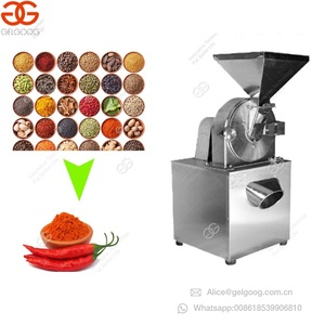 Commercial Fruit Food Turmeric Ginger Fine Powder Grinding Chili Grinder Machine Price