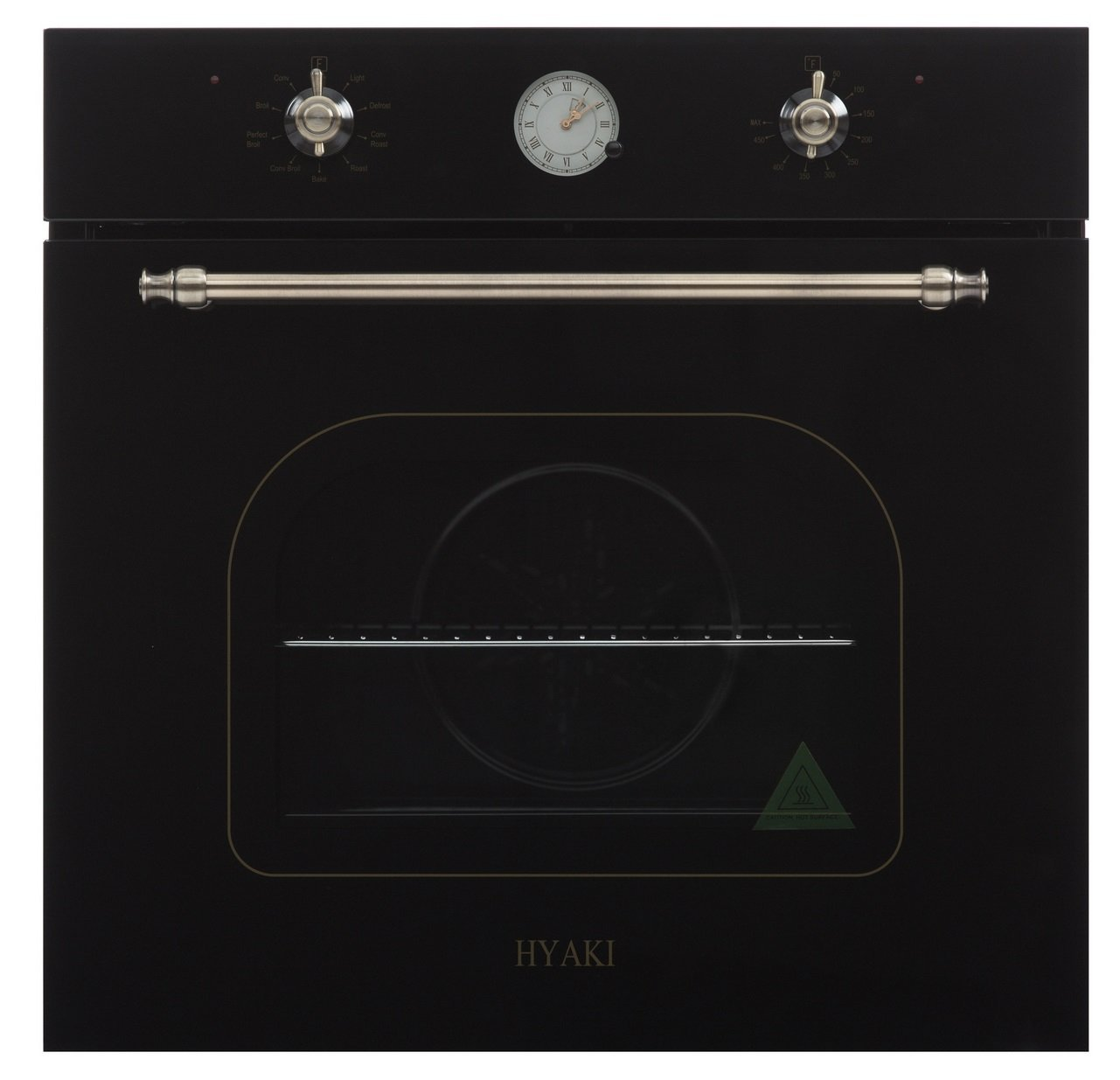 "Hyaki 24"" Antique Retro Design Built in Electric Single Wall Oven 220V HYK-24WOGD"