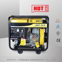 AC 2kW 2.5kva Small aircooled open type diesel generator portable welding generator