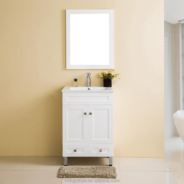 Classic Thailand Oak Wood Gorgeous Cottage Cream Bathroom Vanity